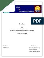 SCM Report Vithal