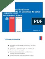 Modelos Salud en Chile