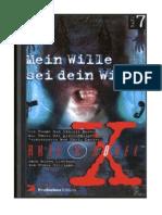 (eBook - German) Akte X Novel - Bd. 07 - Mein Wille Sei Dein Wille