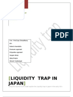 Liquidity Trap in japan