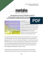 Runaway Bunny at Montalvo April 14
