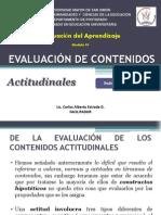4. Evaluacion de Contenidos Actitudinales. 2012
