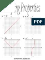 Shifting Properties Example Sheets