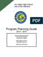 2014-2015 Program Planning Guide