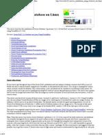 Oracle RAC 11g Database on Linux Using VirtualBox.