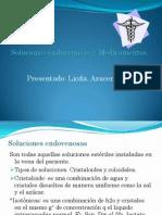 Soluciones Endovenosas y Medicamentos