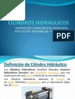 TERCERA CHARLA CILINDROS HIDRÁULICOS