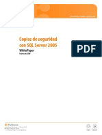 Copias de Seguridad Con SQL Server 2005