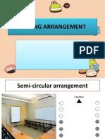 TSL 3109 Seating Arrangement in classroom