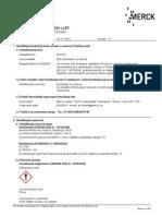 Mda Chemicals Msds Hr-HR 810278 HR HR