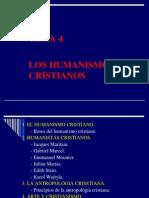 TEMA 4 Los Humanistas Cristianos