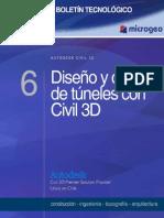 Boletin N-6 Dise-o y Control de Tuneles Con Civil 3D