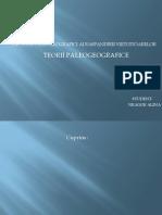 Factorii Paleogeografici Ai Raspandirii Vietuitoarelor