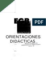 orientaciones didacticas 1º ciclo