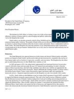 Obama Letter Saudi Arabia