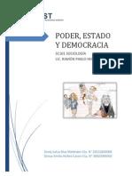 Poder Estado y Democracia
