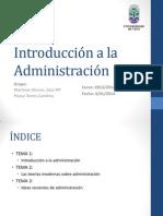 Introducción a la Administración (1)