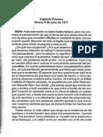 Bion, W. Seminarios Romanos. I y II