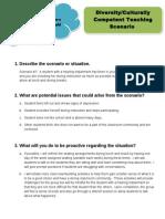 diversity teaching scenario