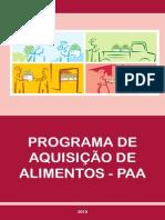 Caderno Balanco PAA 2003-2010