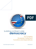Comparison Study EP-US Congress (en)(WWW)