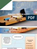 EDUCACIÓN ESPECIALIZADA