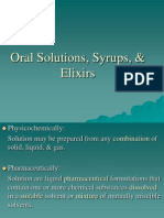 4006Oral Solutions, Syrups, & Elixirs