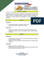 Malla del Curso de Repostería Decoracion y Panificación Artesanal