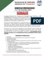 XIII CongressoUISTransportes Convocatoria(PT)