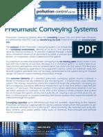 Pneumatic Conveying Flyer