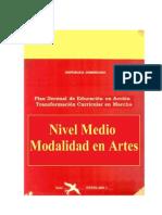 Nivel Nedio Modalidad Artes