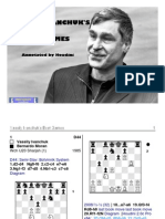 Vassily Ivanchuk Best Game - Online Proof