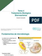 Tema 4 Tratamiento Biologico I Biorreactores