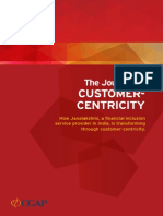 The Journey to Customer Centricity in Financial Inclusion