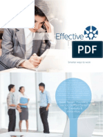 Effective Thinking Brochure