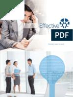 Effective Thinking Brochure