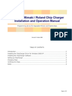 Mimaki Chip Charger Manual