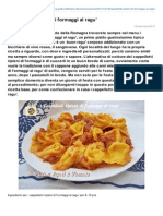 Blog.giallozafferano.it-cappelletti Ripieni Di Formaggi Al Ragu