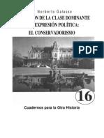 Formacion de La Clase Dominante por Norberto Galasso
