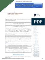 Regência Verbal_ Regras e Exemplos _ Português X Concursos