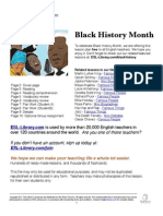 Black History ESL Library Lesson Plan