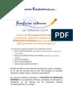POSTULACIÓN BENEFICIOS INTERNOS 2014_1
