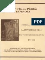 Pérez Espinosa, UAP 1956-61 (libro completo)