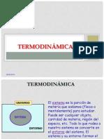 UNIDAD 2. Generalidades 1raLey Termodinámica