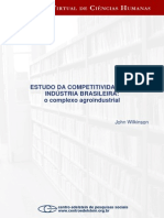 WILKINSON Estudo Da Competitividade