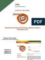 Manual de Instruções do SISPACTO municipio_2013