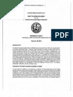 Onondaga Lake Amphitheater Draft Scoping Document for Draft Environmental Impact Statement