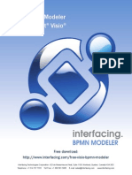 Interfacing FreeBPMNModeler