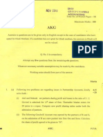 november'10 audit suggested answers