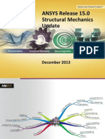 ANSYS 15.0 Structural Mechanics Update